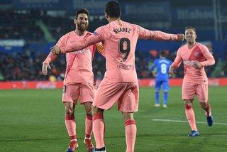 """Suarez lập siêu phẩm, cùng Messi cho Real """"hít bụi"""""""