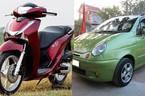 """Có 120 triệu: Chơi xe máy xịn hay ô tô """"cỏ""""?"""