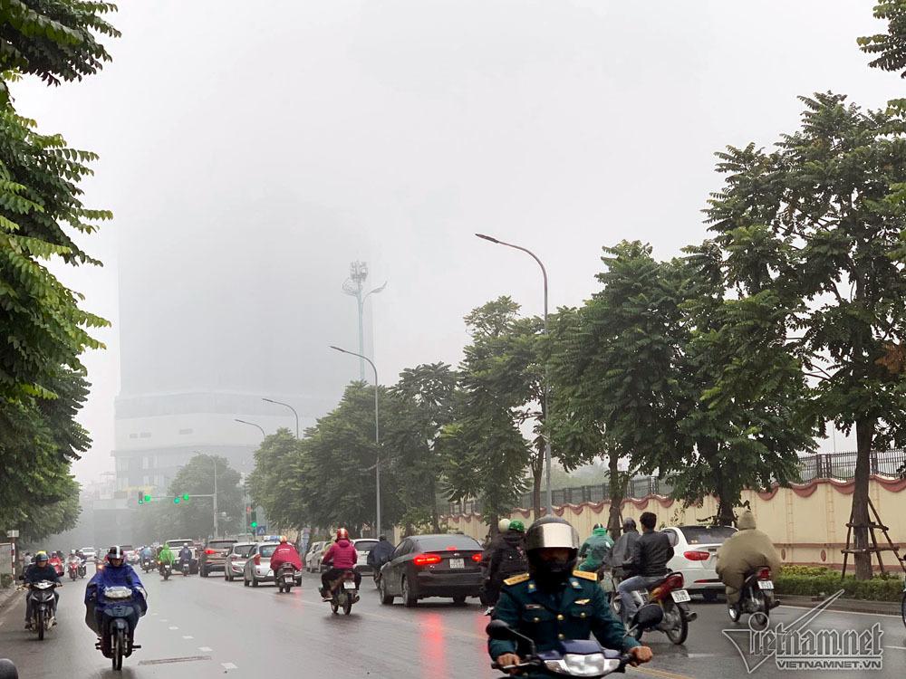 sương mù,Hà Nội