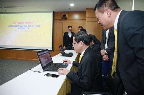 Bưu điện Việt Nam khởi động Sàn thương mại điện tử POSTMART