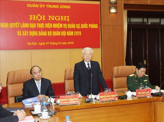 Tổng bí thư, Chủ tịch nước chủ trì hội nghị Quân ủy Trung ương