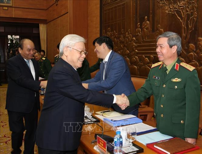 Tổng bí thư,Chủ tịch nước,quốc phòng,Nguyễn Phú Trọng