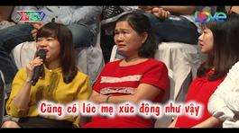 Người mẹ khóc nghẹn ở trường quay 'Bạn muốn hẹn hò'