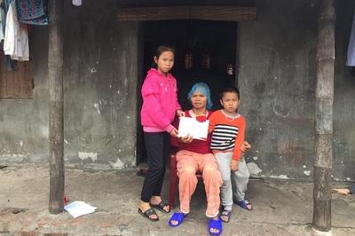 Hơn 32 triệu đồng bạn đọc giúp đỡ chị Vũ Thị Hương