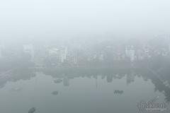 Hà Nội: Sương mù đặc quánh kéo dài tới bao giờ?