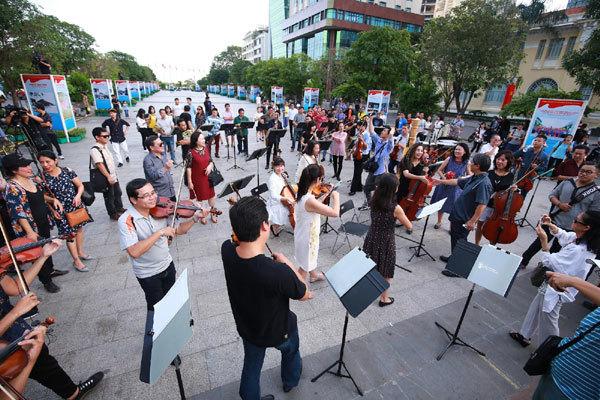 Hòa nhạc 'Hạnh phúc' đưa âm nhạc hàn lâm đến đại chúng