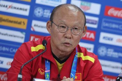 """HLV Park Hang Seo: """"Đấu Iraq, tuyển Việt Nam lo nhất là thể lực"""""""