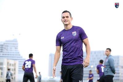 """Cầu thủ Thái Lan cười tươi sau khi HLV Rajevac """"bay ghế"""""""