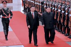 Kim Jong Un công du Trung Quốc
