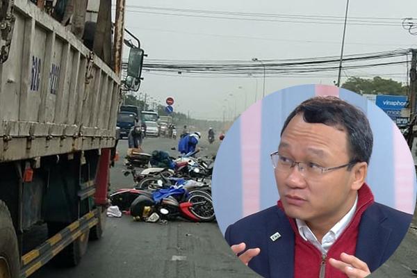 Ông Khuất Việt Hùng: Chưa có con số chính thức về tài xế nghiện ma túy