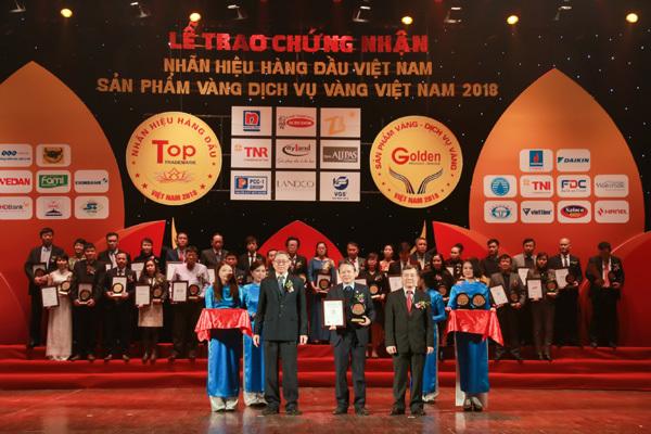 Văn Phú-Invest vào Top 50 'Nhãn hiệu hàng đầu Việt Nam'