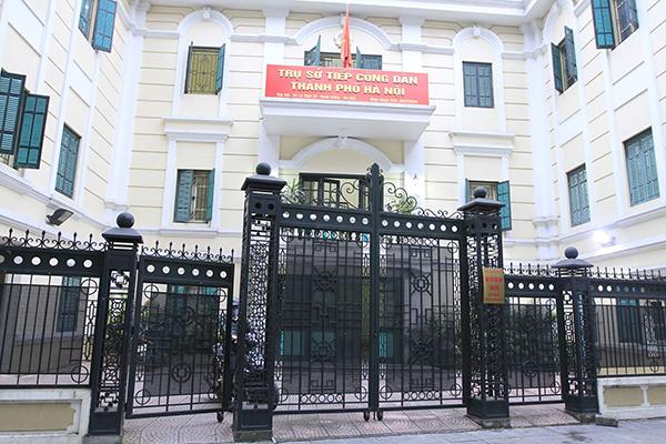 Hà Nội,tiếp dân,Chủ tịch Hà Nội,Nguyễn Đức Chung
