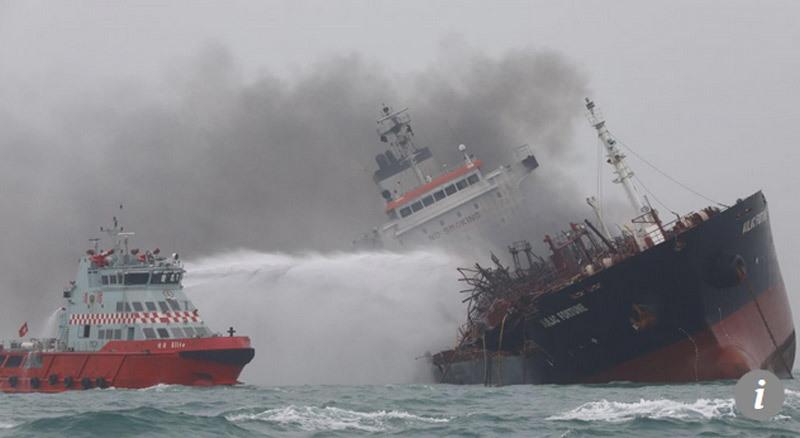 Tàu chở dầu,Hong Kong,nổ tàu chở dầu