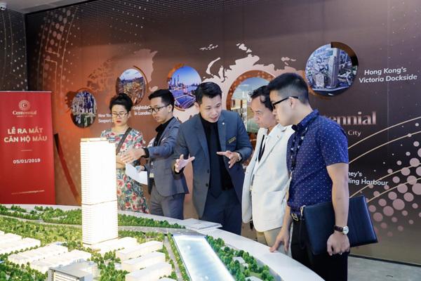 Ấn tượng căn hộ mẫu Centennial Ba Son ngày ra mắt