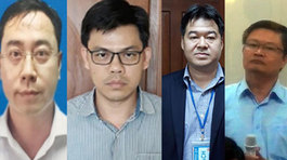Dàn lãnh đạo công ty hầu tòa vụ án Hà Văn Thắm giai đoạn 2