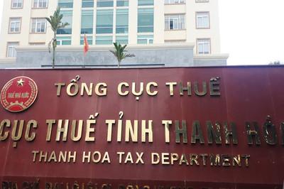 Cục Thuế Thanh Hóa xin 700 triệu để 'động viên cán bộ'