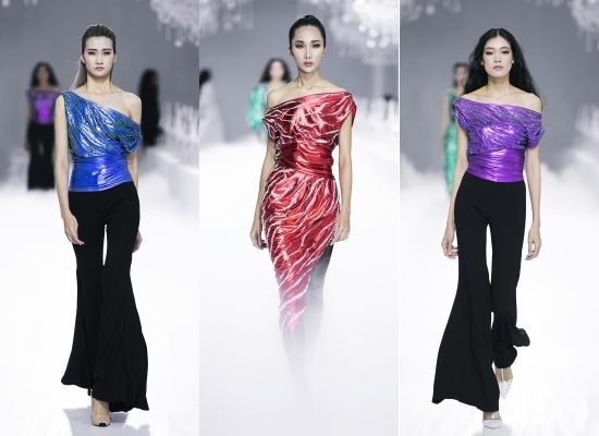 Hà Hồ, Mai Phương Thúy nổi bật trong show Lý Quí Khánh