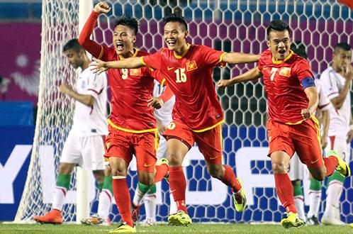 Bóng đá Việt Nam từng vùi dập Iran 4-1 tại ASIAD