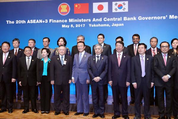 ASEAN+3 sửa đổi thỏa thuận bảo vệ tài chính khu vực