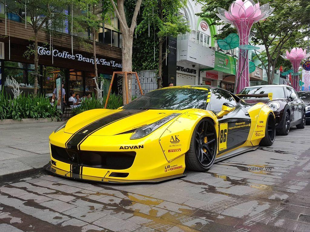 Ferrari 458 Italia độ Liberty Walk độc nhất Việt Nam tái xuất