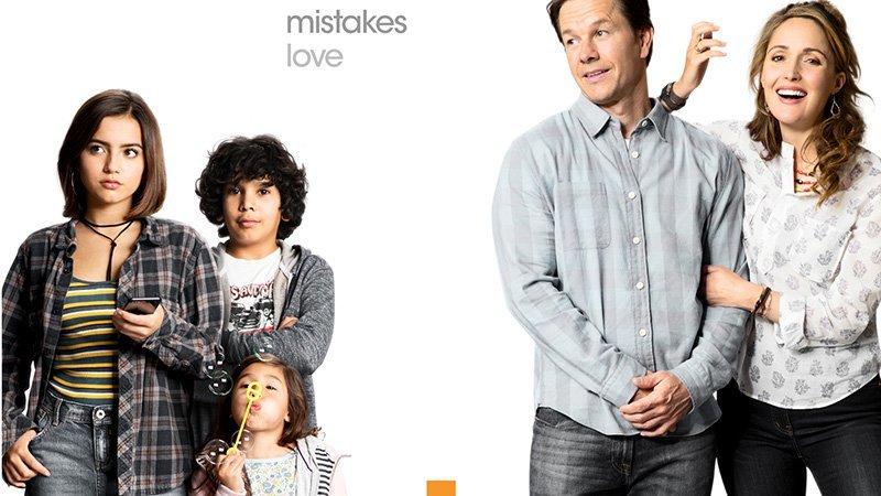 Mark Wahlberg,phim chiếu rạp,Con nuôi bất đắc dĩ,Rose Byrne