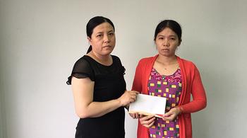Hơn 16 triệu đồng gửi tặng bé Thanh Thảo bị ung thư máu