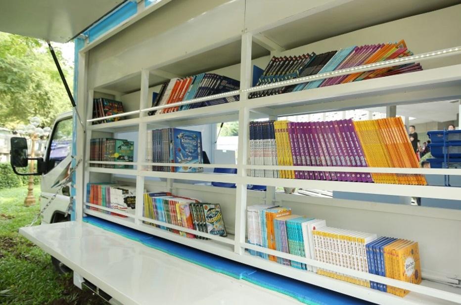 STEM,xe thư viện thông minh