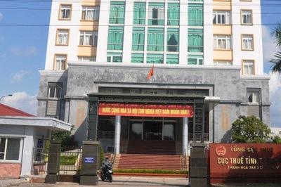 Cục thuế Thanh Hóa xin 700 triệu để động viên cán bộ