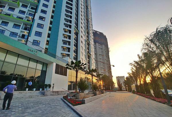 Khu căn hộ Aqua Bay Ecopark đón những cư dân đầu tiên