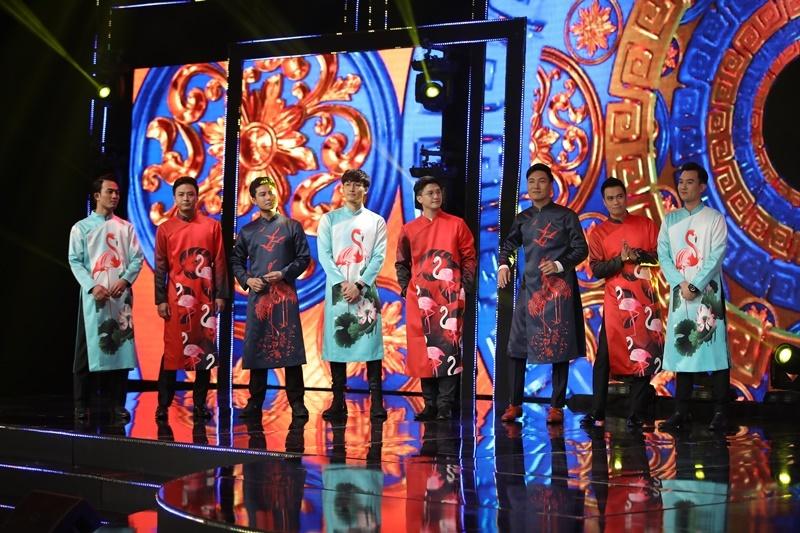 Dàn diễn viên hot nhí nhảnh trong hậu trường chương trình Tết
