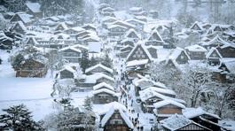 Đến Nhật Bản, đừng quên check-in ngôi làng tuyết đẹp như cổ tích