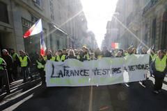 Người biểu tình Áo vàng Pháp cảnh báo 'ác mộng tệ nhất'