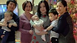 'Bé' Xuân Mai sinh con thứ 3 sau 3 năm kết hôn ở Mỹ