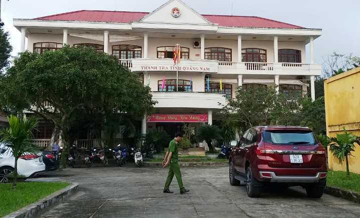 Phó chánh Thanh tra tỉnh Quảng Nam tử vong tại trụ sở