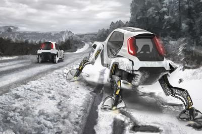 Robot ô tô vừa ra mắt tại CES 2019 có gì đặc biệt?