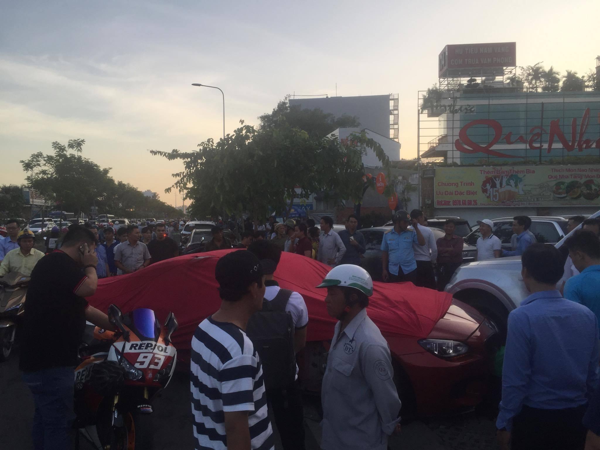 Tai Nạn Liên Hoàn,Tai Nạn Giao Thông,Sài Gòn,tai nạn