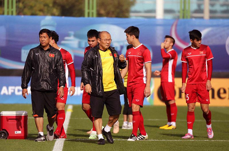 Tuyển Việt Nam,tuyển Iran,HLV Park Hang Seo,Việt Nam vs Iran