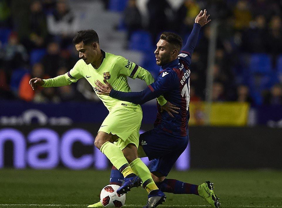 Levante,Barcelona,Messi