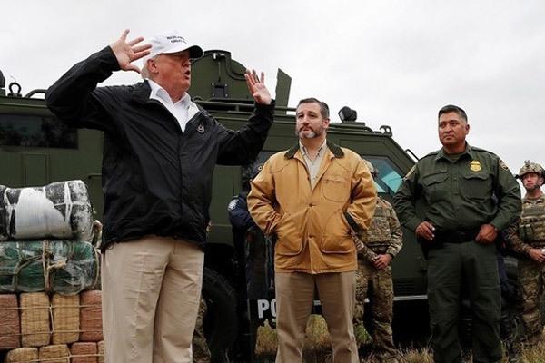 Mỹ,Donald Trump,tường biên giới,đảng Dân chủ,hội nghị WEF,hội nghị Davos
