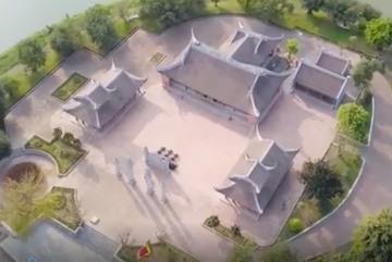 Cận cảnh ngôi chùa đặt báu vật thiên thạch mặt Trăng ở Hà Nam
