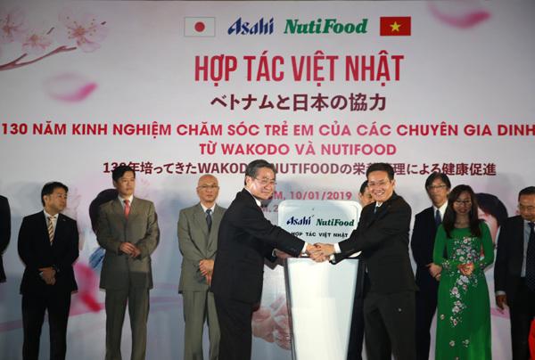 'Đại gia' thực phẩm dinh dưỡng Nhật chọn liên doanh với NutiFood