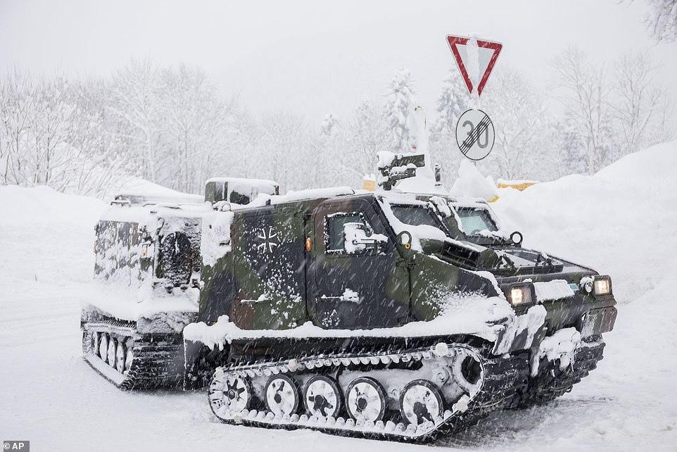 Châu Âu biến thành 'địa ngục băng giá'