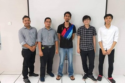 Vietnamese students write software for Bruneian state unit
