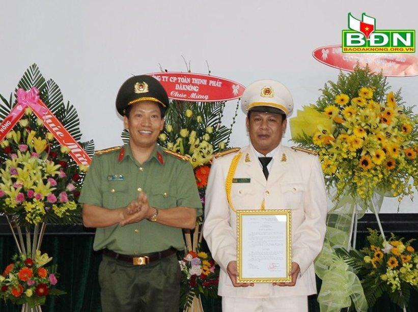 Công bố quyết định nhân sự của Bộ trưởng Công an