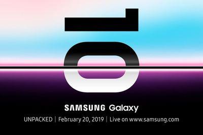 Samsung công bố chính thức ngày ra mắt Galaxy S10
