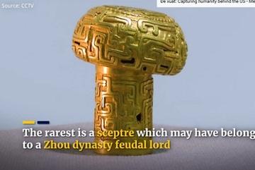 Tìm thấy quyền trượng vàng 2.500 năm tuổi