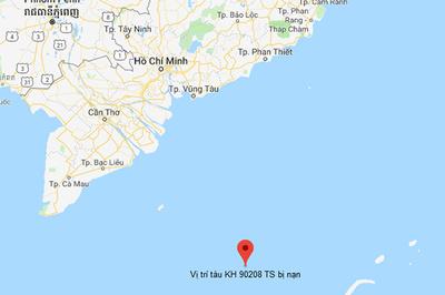 Chìm tàu trên biển, 10 người mất tích