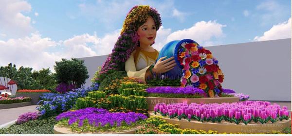 lễ hội hoa,hội hoa xuân