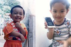 Quý tử 3 tuổi nhà Khánh Thi biểu cảm 'cưng ơi là cưng' khi được mẹ tút tát ngoại hình
