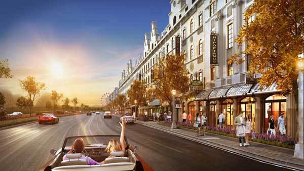 Sức hút shophouse mặt đường lớn